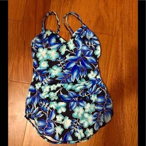 Maxine of Hollywood one piece swimsuit sz. 14